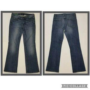 J Crew Stretch Bootcut Jeans 27s EUC Medium Wash